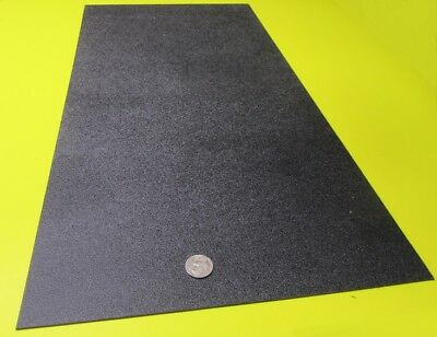 Abs Sheet Haircell Textured 1 Side Black .062 116 X 12 X 24 4 Units