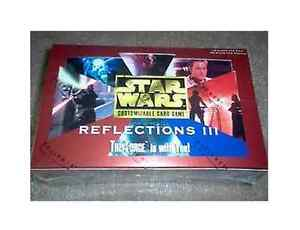 Star-Wars-CCG-Brand-New-Factory-Sealed-Reflections-3-III-Booster-Box