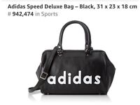 New Genuine Adidas Speed Deluxe Bag with Tag Sale only £75 , was £105