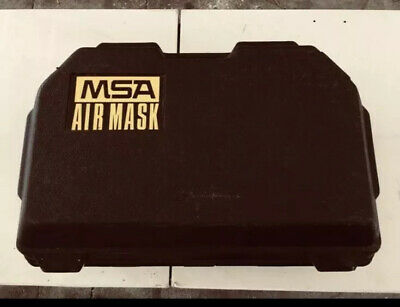 Used Msa Ultralite Ii Low Pressure Scba Harness Regulator And Tank  No Mask
