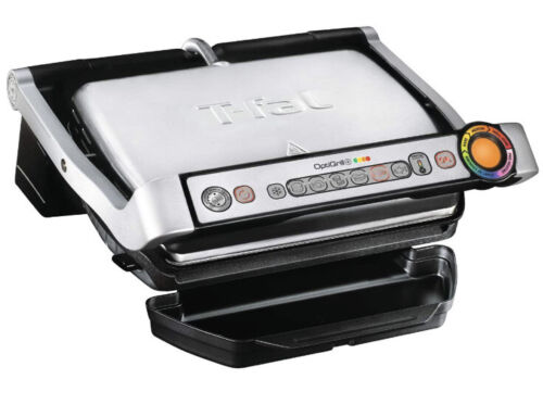 T-Fal GC7 Opti-Grill Indoor Electric Grill, 4-Servings, Auto