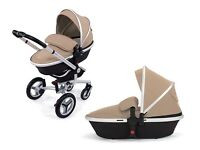 SILVER CROSS SURF BUGGY PLUS CARRY COT