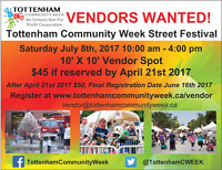 Vendors Wanted for Annual Streeet Festival in Tottenham