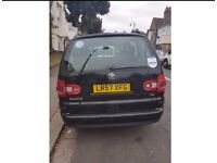 Black 2007 VW Sharan 1.9 TDI for sale with PCO!!!!!