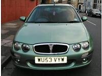 Rover 2003 1.4 for sale 11 months MOT