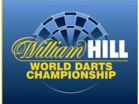 PDC World Darts Championship - 6 Table Seats