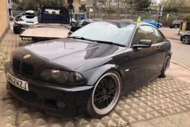 BMW E46 330ci AUTO M SPORT COUPE, BREAKING, SPARES. ALL PARTS ,320, 323, 328. BLACK