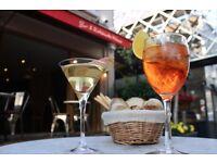 Cacciari's restaurant looking for waiter / waitress