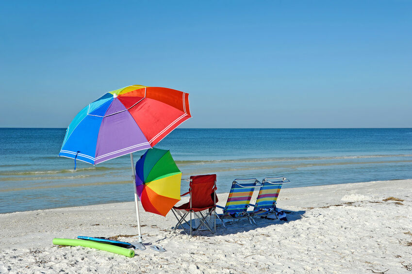 How To Anchor A Beach Umbrella In The Sand