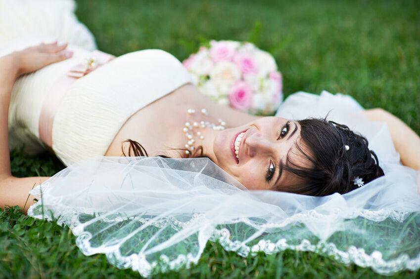 Brautkleid mit oder ohne Schleier?