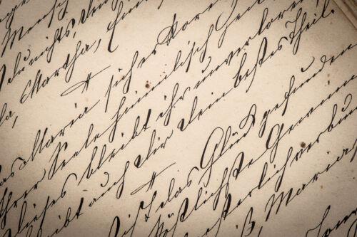eBay-Ratgeber: Kalligraphie