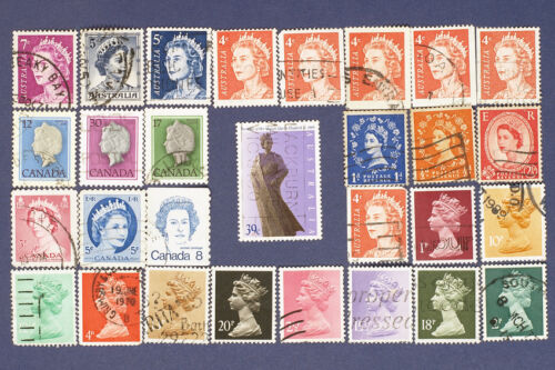 How to Collect Elizabeth II Stamps