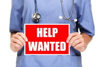 PSW & HEALTHCARE AIDES WANTED
