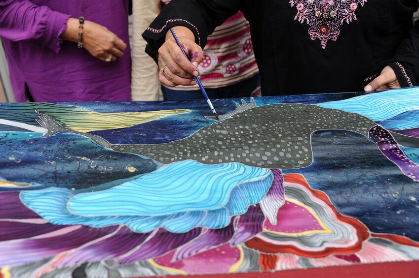 Seidenmalerei: Tipps und Tricks zur Motivauswahl