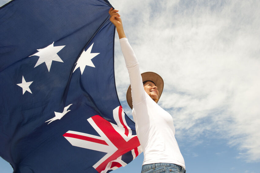 How to Decorate with an Australian Flag