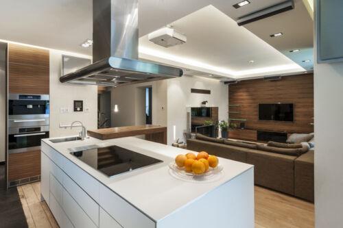 Platzsparend, Lebendig, Funktional: Eine Küche In L-Form | Ebay