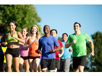 Beginners and experienced running group