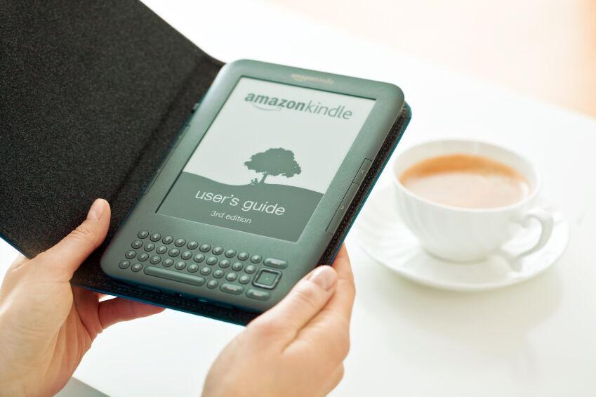 Schutzumschlag für e-Books: Kindle-Hüllena