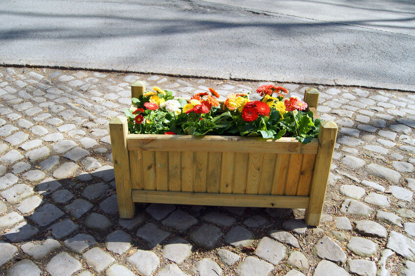 How to Make Planters From Decking
