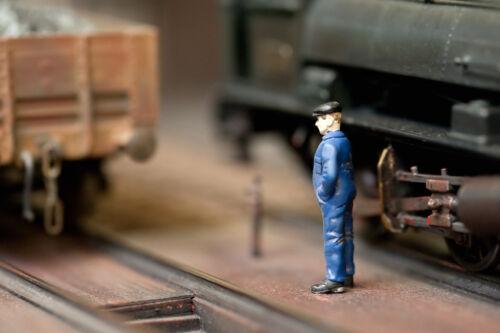 Mit Spur H0 Figuren den Modellbau beleben