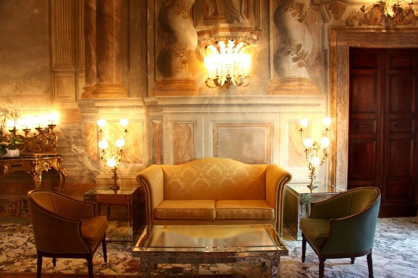 How to Decorate a Room Around an Antique Sofa