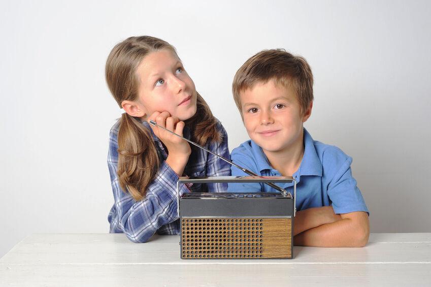 Interessante Designs bei tragbaren Radios