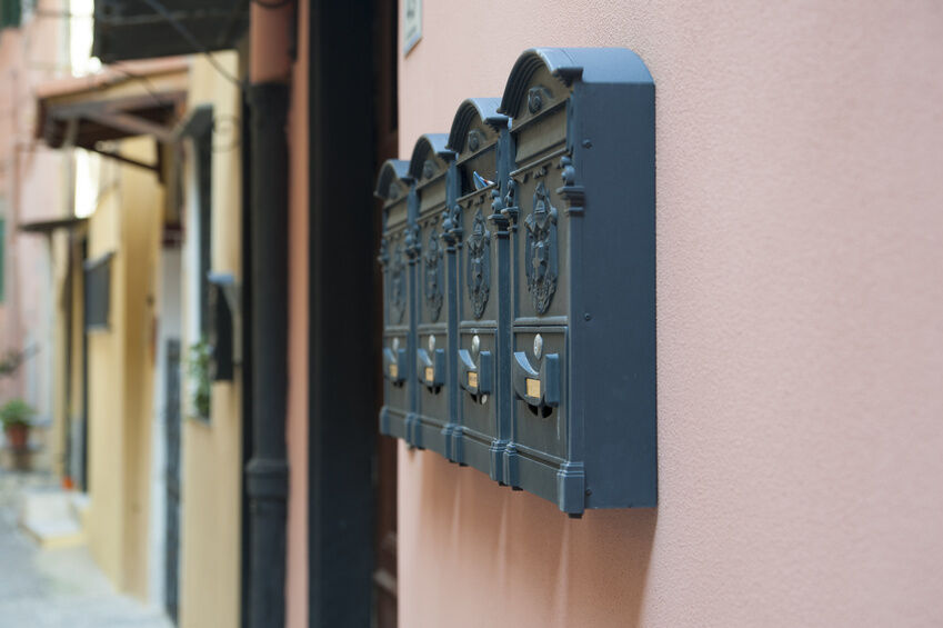 how to install a wall mount mailbox