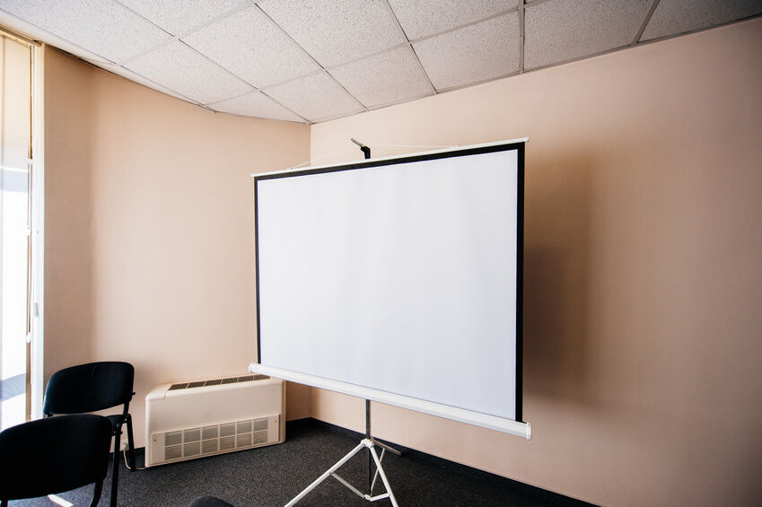 How To Hide A Projector Screen In The Ceiling