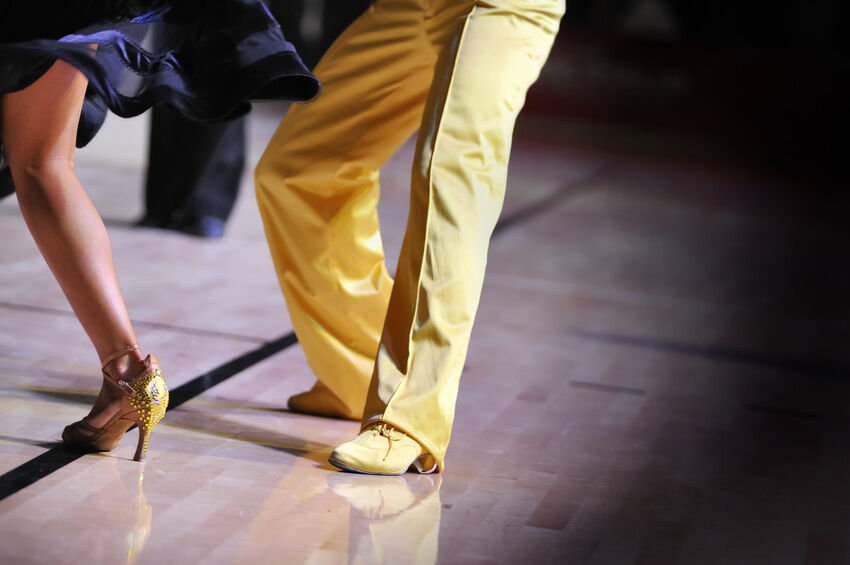 The Men's Guide to Ballroom Dancing Shoes