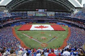 Blue Jays vs Red Sox  CANADA DAY!