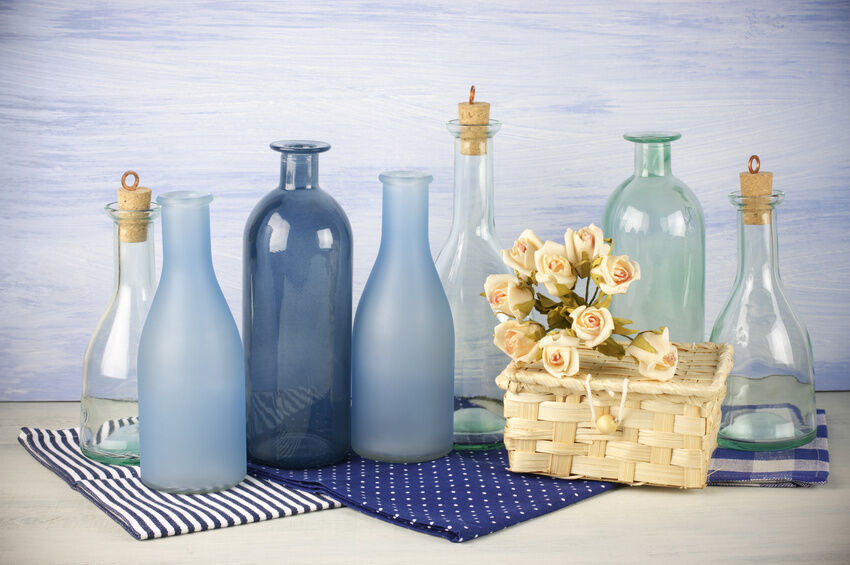 Your Guide to Decorating a Home with Old Bottles