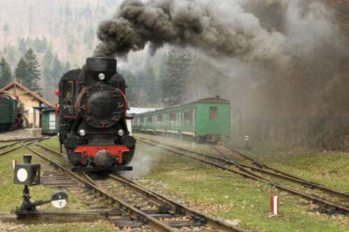 Nostalgische Dampfmaschinen als Standmodelle für zu Hause
