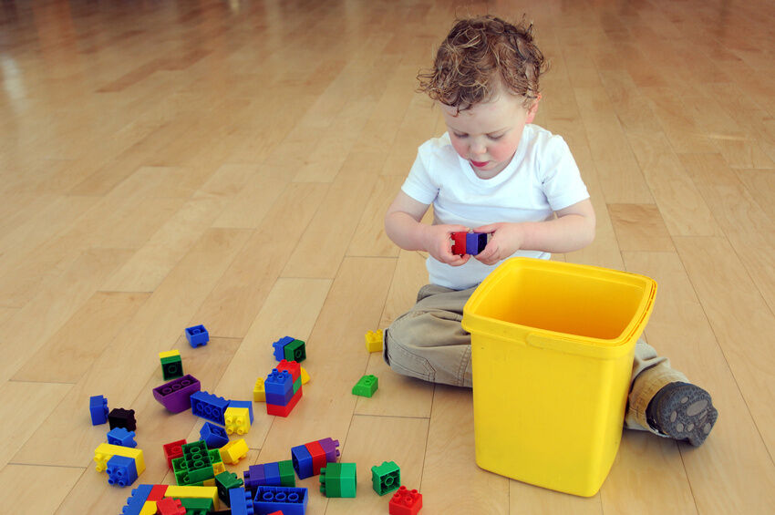 How to Clean Duplo Blocks