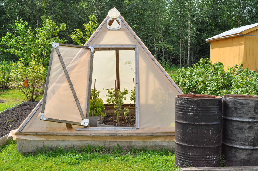 How To Build A Pyramid Greenhouse Ebay
