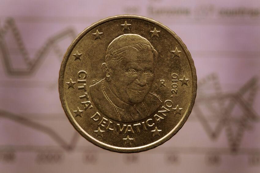 Euros aus dem Vatikan - die Prägeserien der Umlaufmünzen