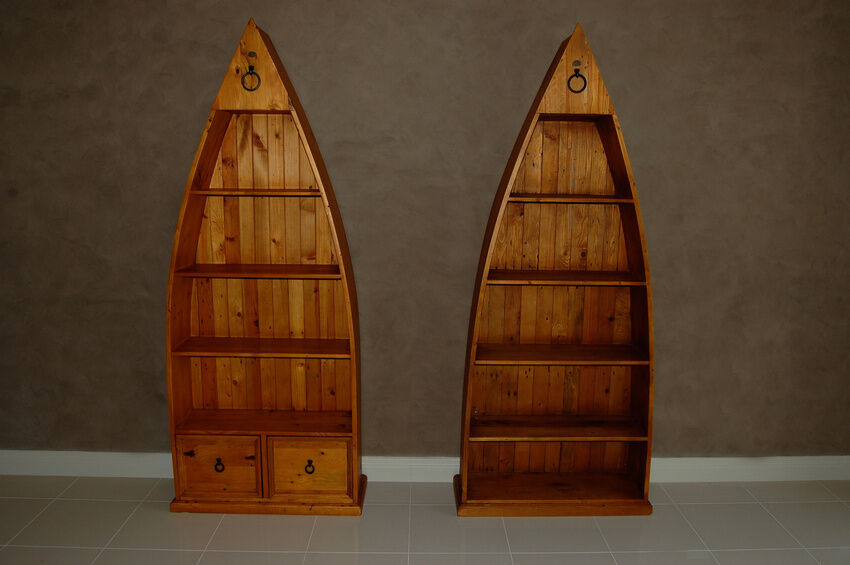How to Build a Boat Bookcase - How To Build A Boat Bookcase EBay
