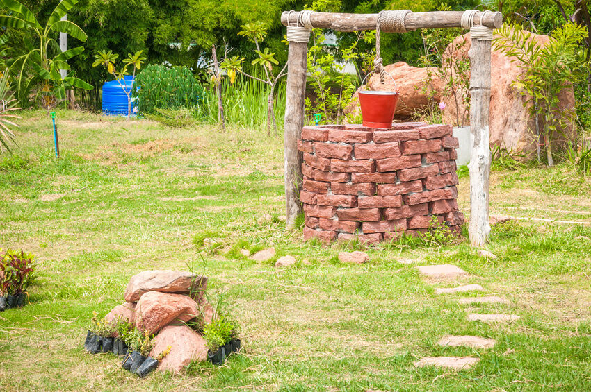 How to Build a Garden Wishing Well eBay