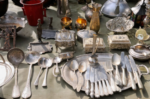 How To Store Antique Solid Silver Cutlery