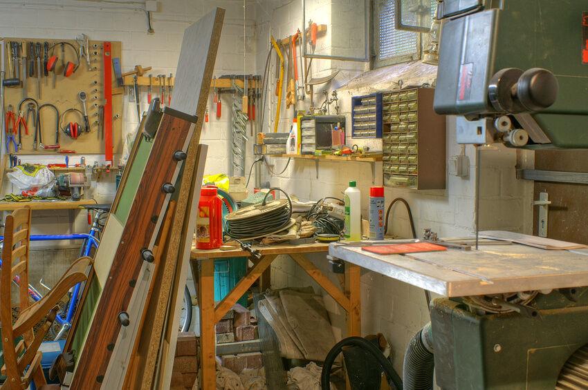 Wie richtet man sich einen Hobby-Keller ein?