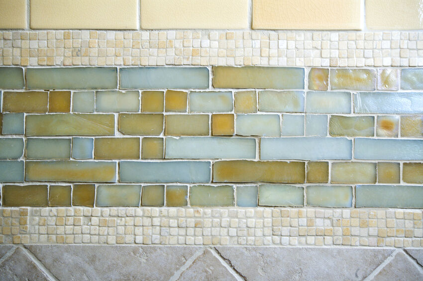 how to install glass mosaic tile backsplash