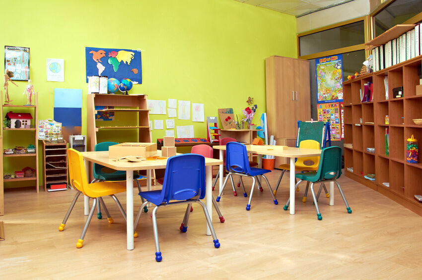 How to decorate a preschool classroom ebay for Mobiliario para kinder