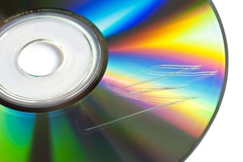 Wie kann ich Daten auf einer verkratzen CD oder DVD retten?