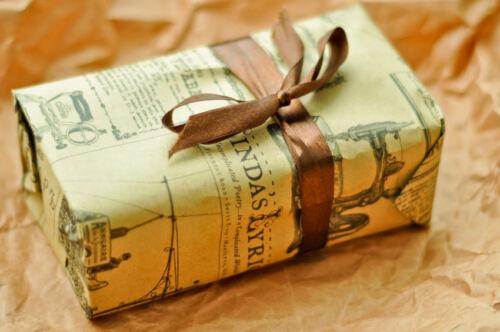 Geschenkverpackungen für Feste & besondere Anlässe aus außergewöhnlichen Materialien