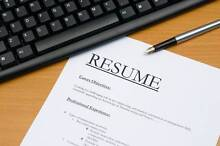 Highly qualified resume writer- Let me help you get that job! Brighton Bayside Area Preview