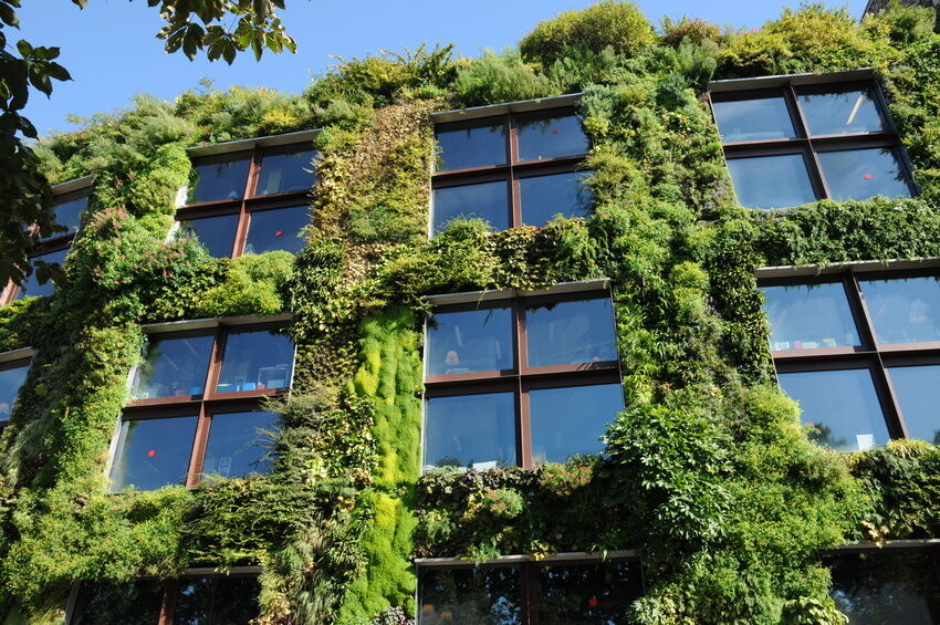 how to make a living wall planter