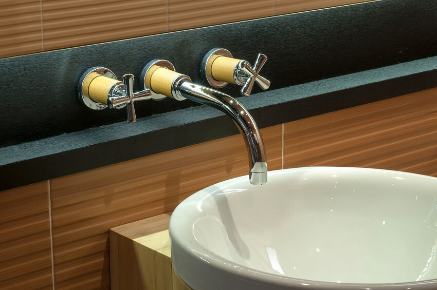 how to install wall mount faucet