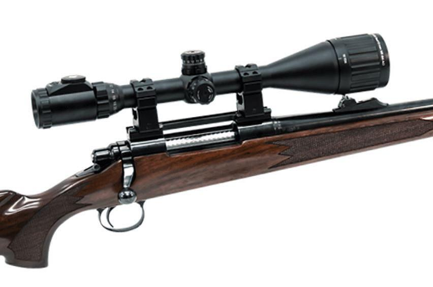 UTG 6-24x50 AO True Hunter Rifle Scope, EZ-TAP, Ill. Mil-Dot
