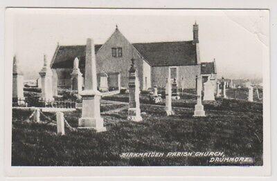 Wigtownshire postcard - Kirkmaiden Parish Church, Drunmore - RP
