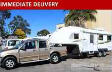 CU666 Macquarie Travelhome 5th Wheeler + 2006 Holden Rodeo Penrith Penrith Area Preview