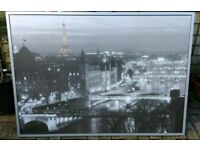 Extra LARGE paris framed photo